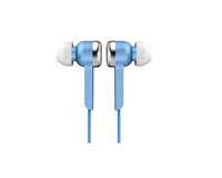 IQ Sound IQ-113 Lightweight Stereo Earphones - BLUE