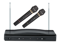 SUPERSONIC SC-900 PROFESSIONAL WIRELESS DUAL COMPACT MICROPHONE SYSTEM