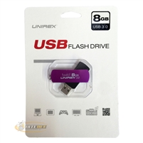 Unirex USFT-308 Twist 8GB USB 3.0 Flash Drive