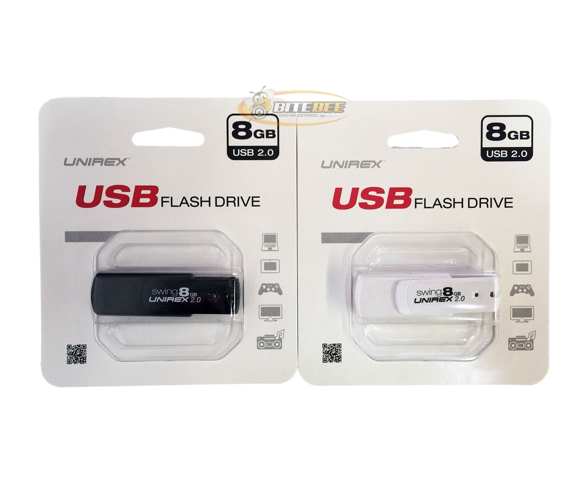 Unirex USFW-208S 8 GB USB 2.0 Portable Flash Drive