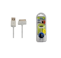 Uninex AV116 USB Charge/Data Sync Cable for iPhone/iPod/iPad