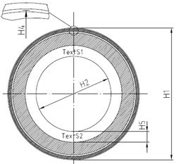 LSHB2S 42-1024 Code disc for iC-LSHB