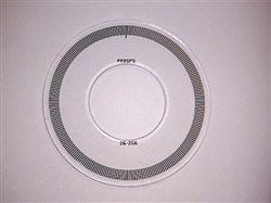 PR05PS 26-256 Code Disc for iC-PR2656 (26 mm,256 CPR)