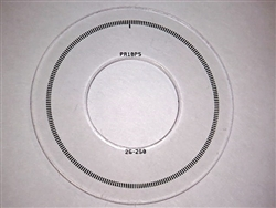 PR10PS 26-250 Code Disc for iC-PR2656 (26 mm,250 CPR)