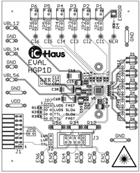 iC-HGP EVAL HGP1D Evaluation Board
