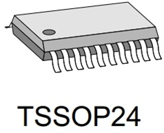 iC-MB4 TSSOP24-Sample