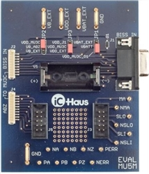 iC-MU EVAL MU5M (MU3C Adapter Board)