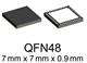 iC-MU QFN48-7x7-Sample