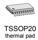 iC-WE TSSOP20-Sample