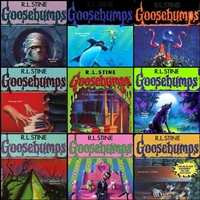 Five-Pack of Goosebumps books ~ R.L. Stine