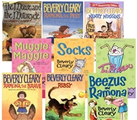 FIVE-PACK Bundle of Beverly Cleary paperbacks