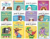 FIVE-PACK Bundle of Junie B. Jones paperbacks