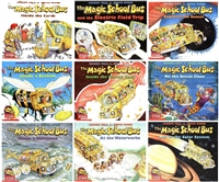 FIVE-PACK Bundle of Magic School Bus paperbacks