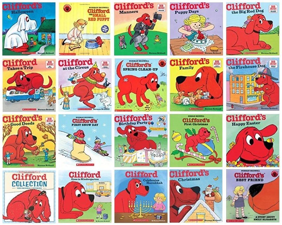 Clifford The Big Red Dog 5 Pack Discover Books
