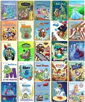 Five-Pack of Disney Little Golden Books books