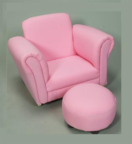 Groovy Gift Mark Upholstered Kids Rocking Chair Chair With Ottoman Pink Machost Co Dining Chair Design Ideas Machostcouk