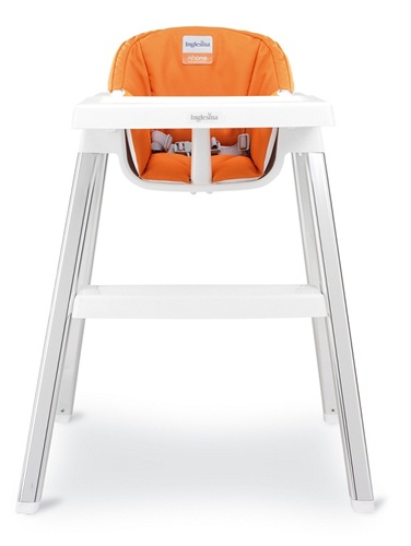 Admirable Inglesina Mhome Club Highchair In Orange Ibusinesslaw Wood Chair Design Ideas Ibusinesslaworg