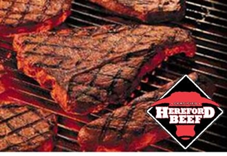 Certified Hereford Beef T Bone Seak