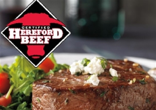 Certified Hereford Beef Tenderloin Steaks