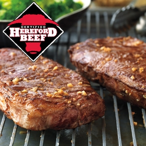 Certified Hereford Beef KC Strips