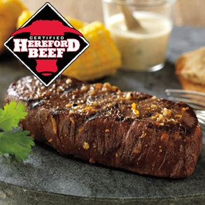 Certified Hereford Beef Sirloin Steaks