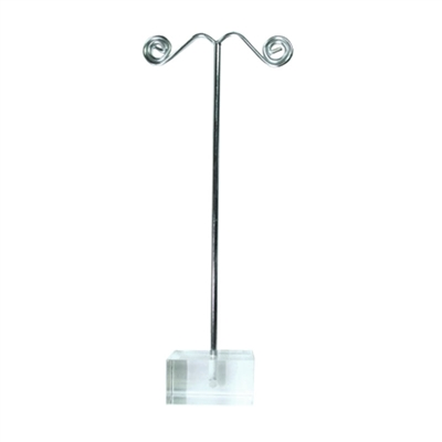 Single Metal Earrings Stand