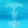 Tree Earring Stand Perspex with Essential Collection Logo