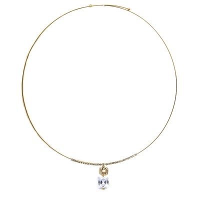 Fine Princess cut necklace