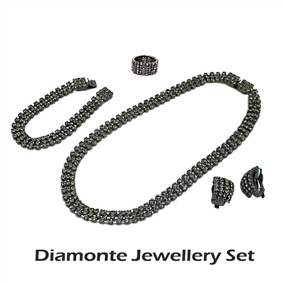 Diamonte Jewellery Set