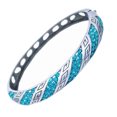 Classic Swarovski Crystals Bangle