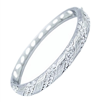 Swarovski Crystals Elegant Bangle