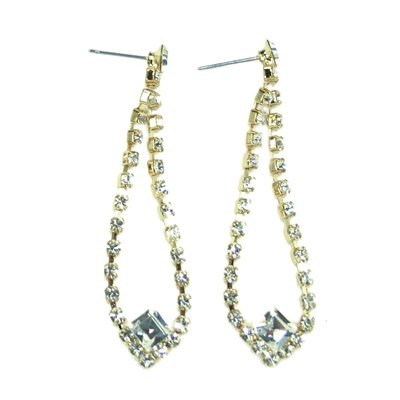 Elegant Swarovski Crystals Earrings