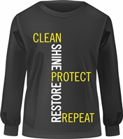 BioTech Black and Yellow Long Sleeve Shirt