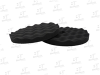Waffle Foam Buffing Pad - Finishing/Black
