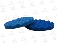 Waffle Foam Buffing Pad - Light Cutting Blue