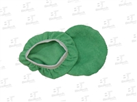Microfiber Cloth Bonnet-Green