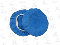 Microfiber Cloth Bonnet Blue