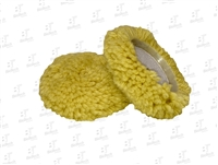 "3.5"" Mini Wool Blend Cutting Pad-Yellow"
