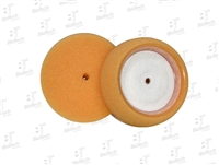 "3.5"" Mini Foam Buffing Pad- Orange (1 Unit)"