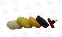 5 Piece Mini Pad Polishing Kit