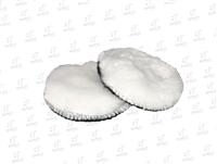 "3"" Mini Wool Buffing Pad-White"
