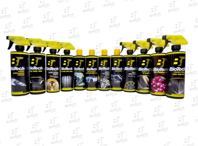BioTech Detailing Product Kit 12 II Pack
