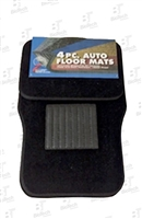Auto Floor Mats- 4 Pieces-Black