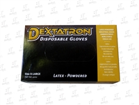 Dextatron Latex Disposable Powdered Gloves