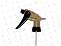 Acid Resistant Spray Nozzle- Black/Gold