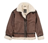 Alpha MLB21012K1 B-3 Sherpa jacket