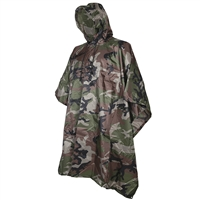 5ive Star Gear Woodland Camo Poncho 3102