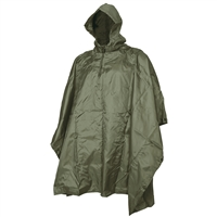 5ive Star Gear Olive Drab Rip Stop Poncho 3103