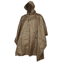 5ive Star Gear Coyote Rip Stop Poncho 3146