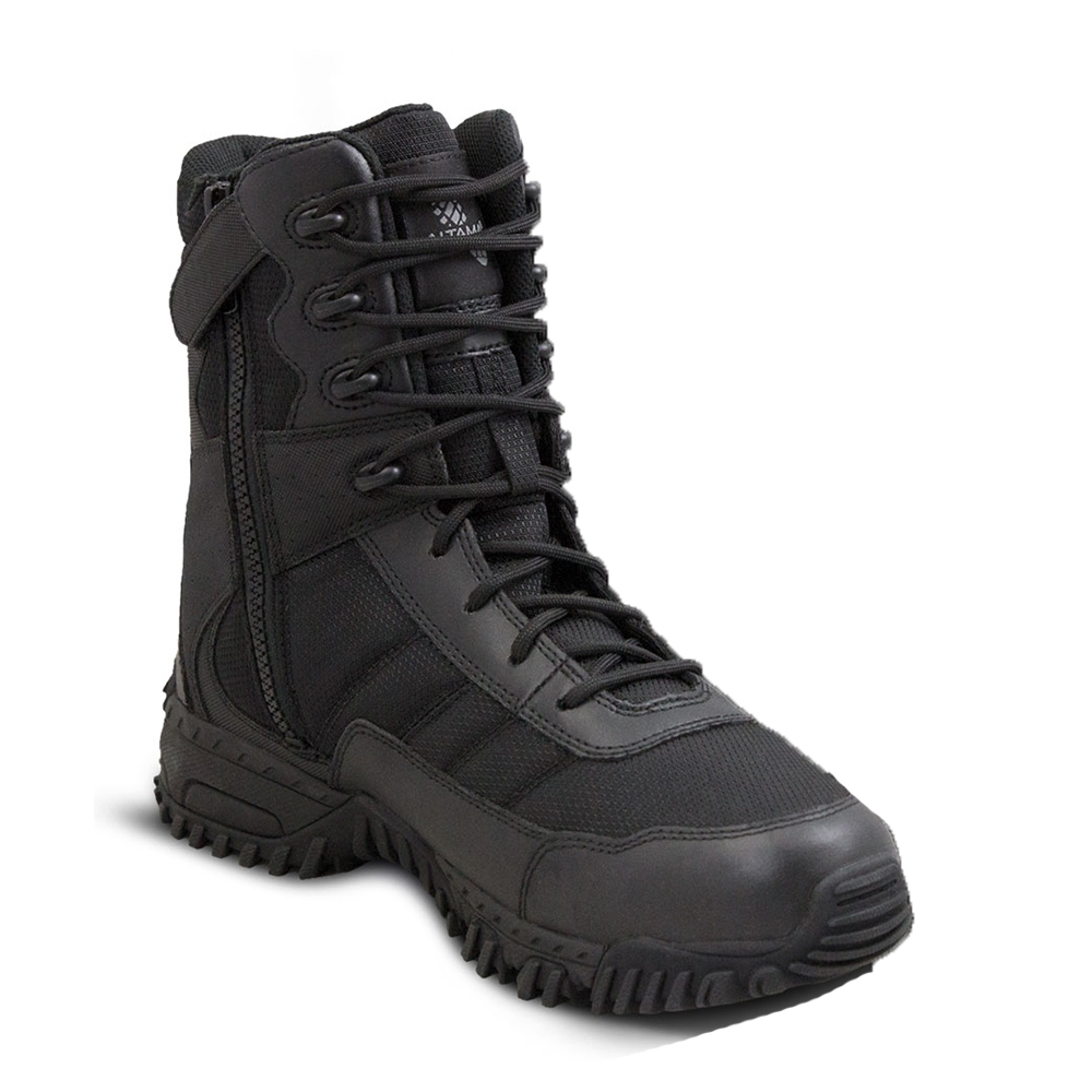 c6fd936e2fc0a1 Altama Black Vengeance SR 8in Side Zip 305301